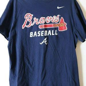Nike Atlanta Braves Baseball T Shirt MLB XL